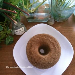 糖質制限★小麦粉不使用★紅茶おからレンジケーキ♡
