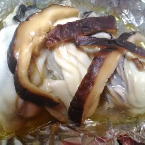 ★牡蠣のホイル焼きパート1 バターめんつゆ味の巻★