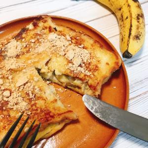 完熟バナナのとろりフレンチトースト