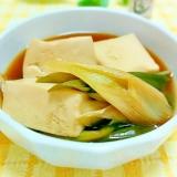 ご飯のおかず♪簡単&節約★ネギ豆腐