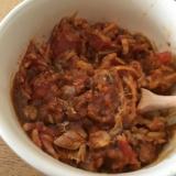 鯖缶のトマトカレー
