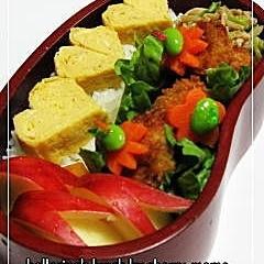 ホタテフライ串のお弁当