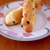 ホットケーキミックスで、超簡単チョコスティックパン