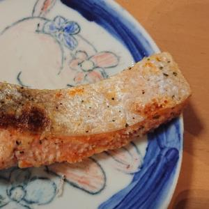 鮭のハーブパン粉焼き