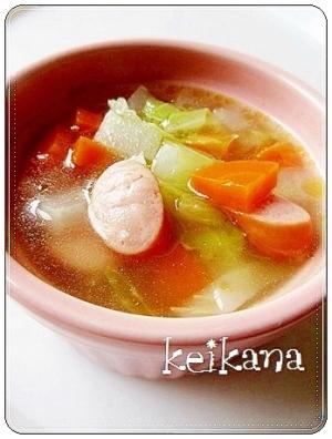 子ども大好き☆簡単&野菜たっぷり♡ポトポトポトフ♪