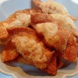 ❤納豆と水煮大豆入り揚げ餃子❤