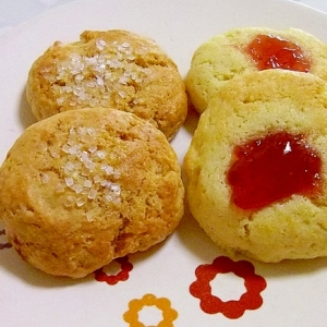トースターで超簡単☆サクッ♪フワッ♪HMのクッキー