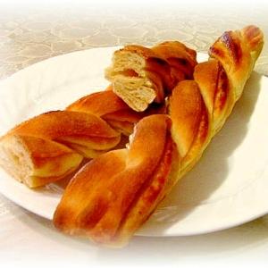 自家製キャラメルシロップシートdeツイストパン