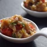 トルコ料理★ハタイ風・焼きナスと野菜のペースト