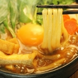讃岐うどんで名古屋風味噌煮込みうどん