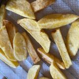 カリカリ手作りポテトフライ
