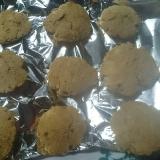 きな粉とシナモン黒砂糖のおからクッキー