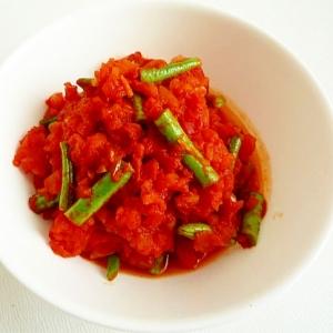 スペイン風 いんげんとトマトの煮込み