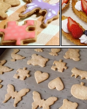 初心者向けに解説したクッキー生地(タルト生地)
