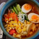 トウモロコシの冷麺