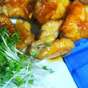 鶏肉のポン酢入り照り焼き