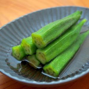シンプルで美味しい副菜!あっさりオクラのお浸し