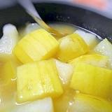 夏のごちそう☆かもうり(冬瓜)の塩麹煮