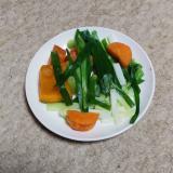 栄養満点 ニラネギサラダ