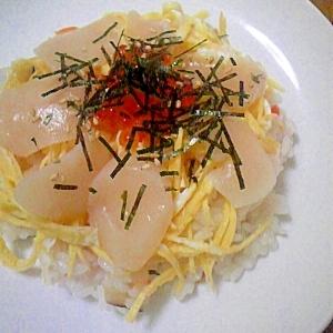雛祭りにも~海鮮ちらし寿司~