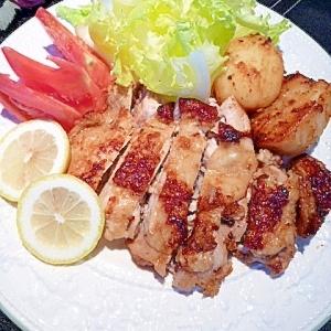 こんぶ鶏を使ってアレンジ☆「鶏のスタミナ焼き」
