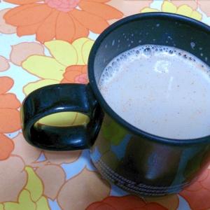 スキムミルクで作るシナモンカフェオレ