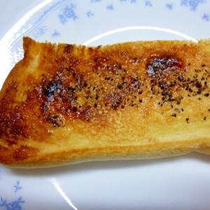 ☆練乳と粉チーズのペッパートースト☆