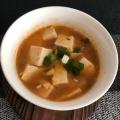 ほんのりカレー風味の麻婆豆腐
