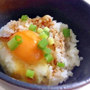 オイスターソースで☆卵かけご飯