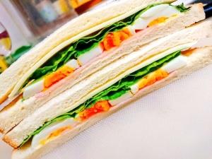 朝食に☆サンドイッチ