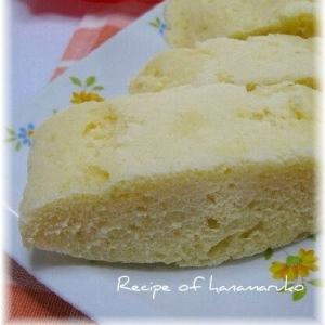 シリコンスチーマーとHMでふっくら蒸しチーズケーキ
