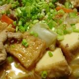 ストウブDe〜厚揚げと白菜の旨煮