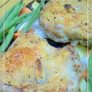 レンジとオーブンで簡単☆ローストチキン