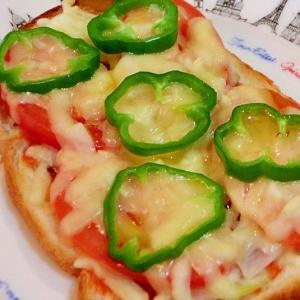 簡単ピザトースト♪