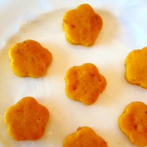 レンジで簡単♪かぼちゃのモチモチ蒸しパン
