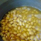 水煮大豆の作り方