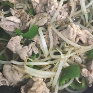 焼き肉のタレで簡単!節約野菜炒め!