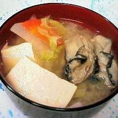 料亭の味!牡蠣のお味噌汁★私の牡蠣の楽しみ方(3)