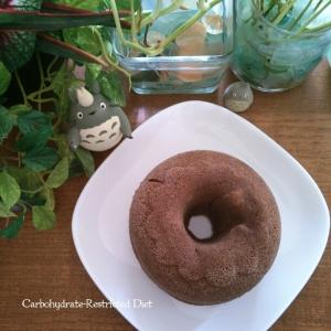 糖質制限★粉不使用★ココアおからレンジケーキ改良版