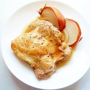 鶏もも肉で メープルローストチキン