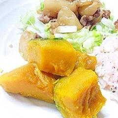 うちのカボチャの煮物◆甘めの煮物です^^