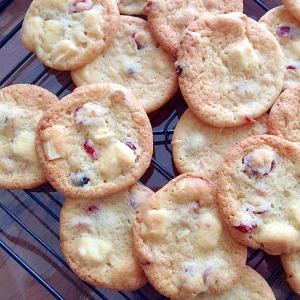 クランベリーとホワイトチョコ☆クッキー
