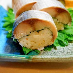 ご家庭の食卓がお寿司屋さんのカウンターに!鯖寿司