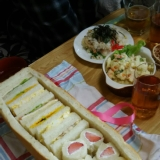 おもてなしに!サンドイッチボックス☆シュープリーズ