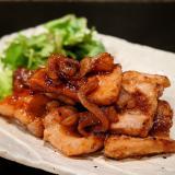 プロ直伝の厚切り豚バラ生姜焼き