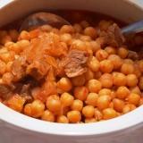 トルコ料理★牛肉とひよこ豆の煮込み