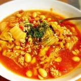 ♡白菜とカットトマトのミネストローネ風煮込み♡