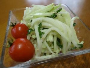 コールラビ☆ヨーグルトサラダ♪