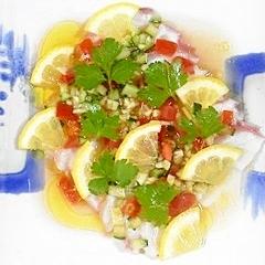 タコのガーリックサラダ