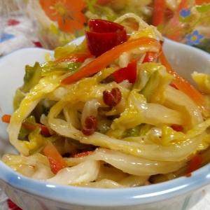 ラーパイツァイ(中華風白菜の甘酢漬け)